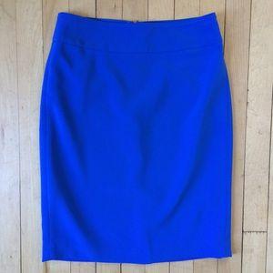 Ann Taylor • Bright Blue Mini Skirt